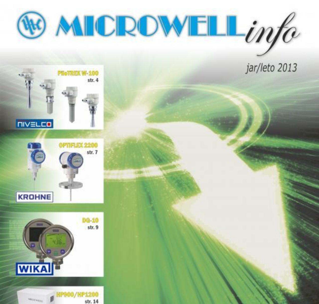 Microwell INFO jar-leto 2013 | Blog - Microwell