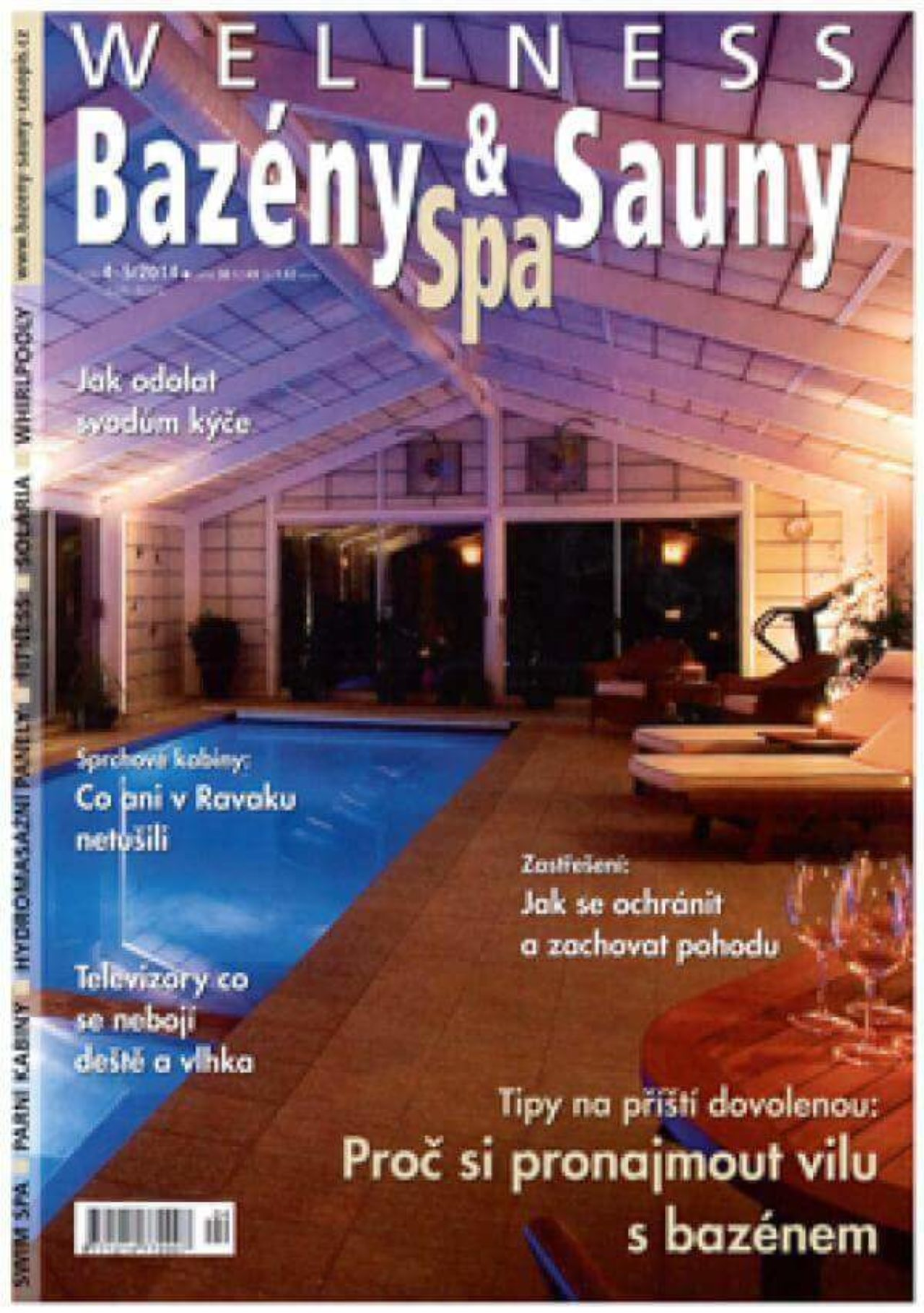 Bazény, Spa & Sauny 4-5/2014 | Blog - Microwell