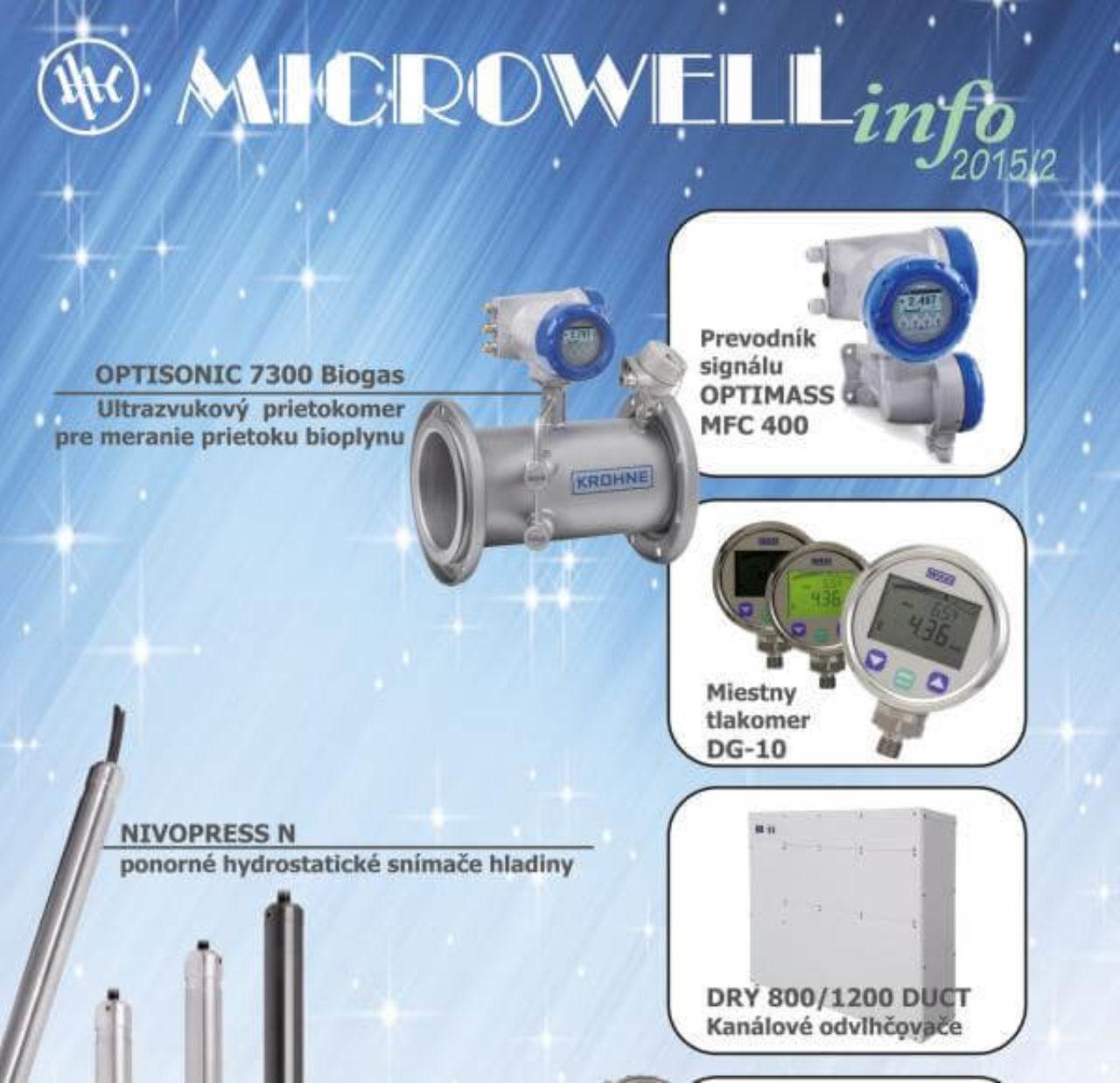 Microwell INFO jeseň-zima 2015 | Blog - Microwell