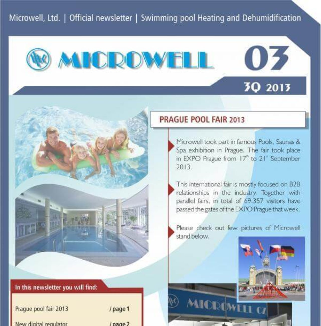 Microwell Newsletter 03/2013 | Blog - Microwell