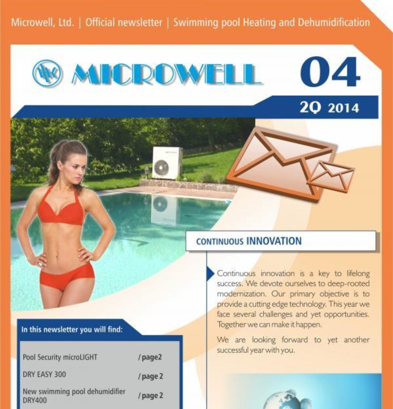 Microwell Newsletter 04/2014 | Blog - Microwell