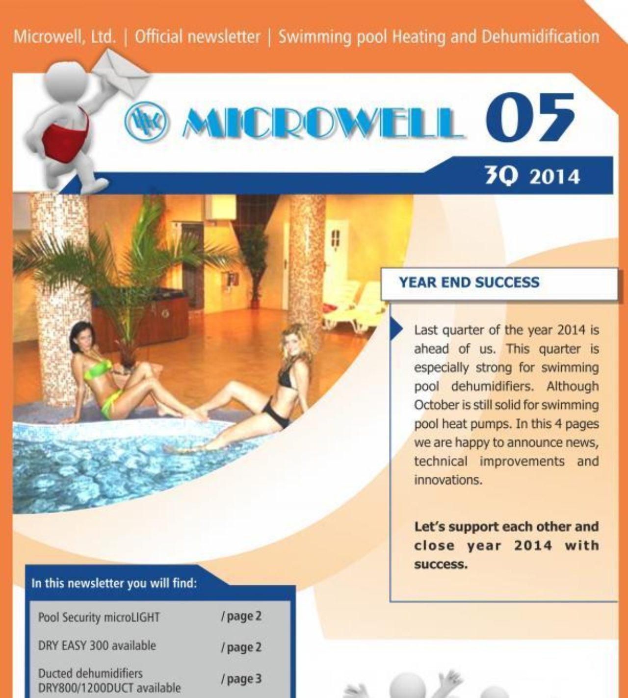 Microwell Newsletter 05/2014 | Blog - Microwell