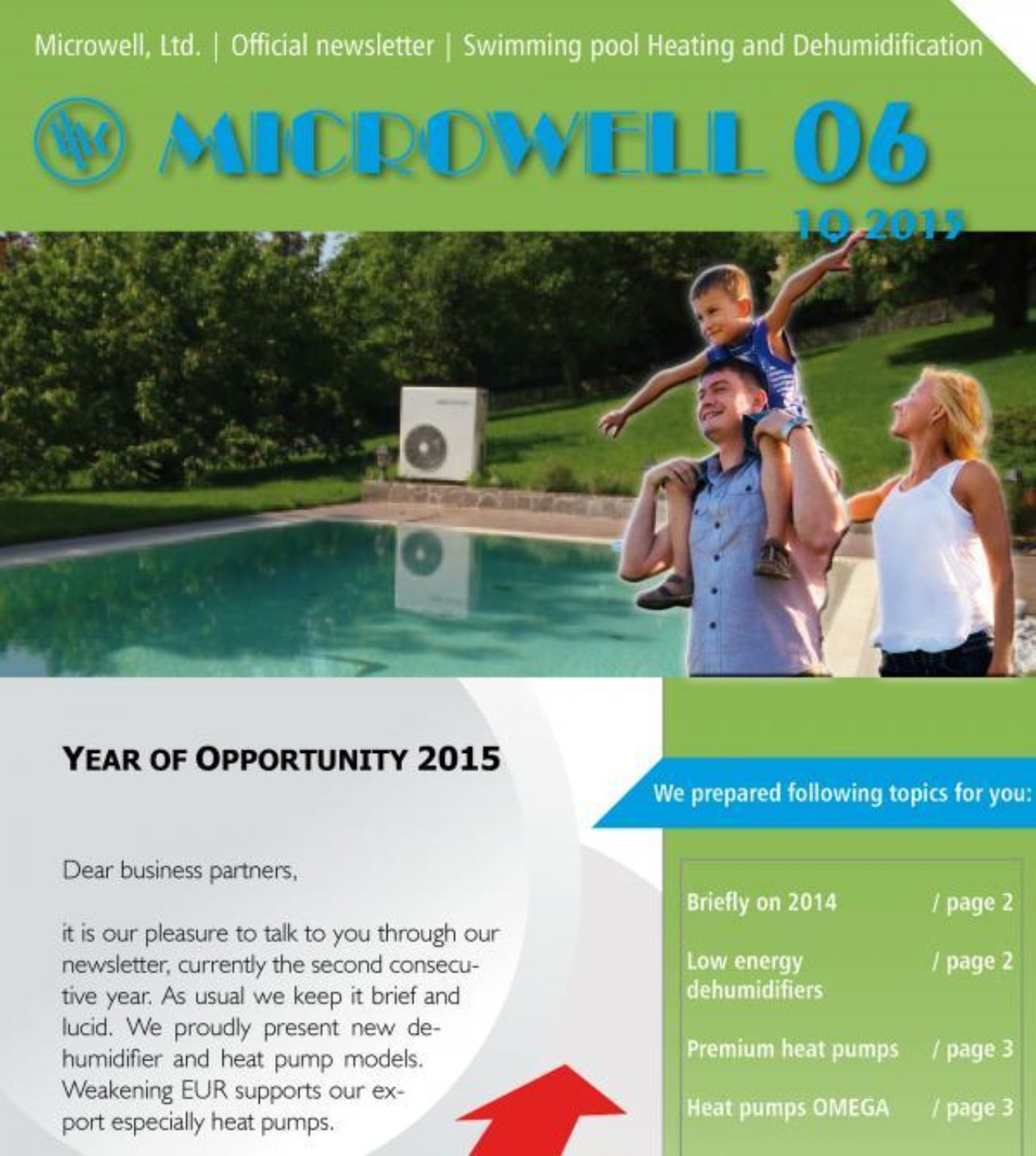 Microwell Newsletter 06/2015 | Blog - Microwell