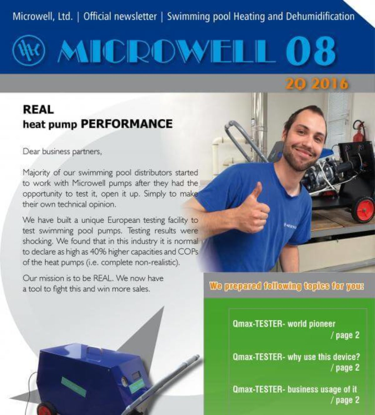 Microwell Newsletter 08/2016 | Blog - Microwell