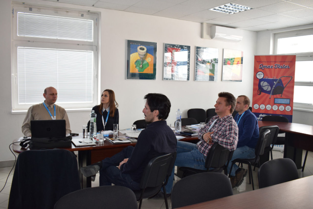 Training Alba Pools, Prešov Slovakia, 7.2.2019 | Blog - Microwell