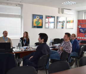 Training Alba Pools, Prešov Slovakia, 7.2.2019 | Microwell