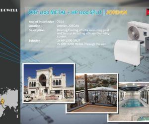 DRY 1200 METAL + HP 1200 SPLIT  JORDAN - Microwell