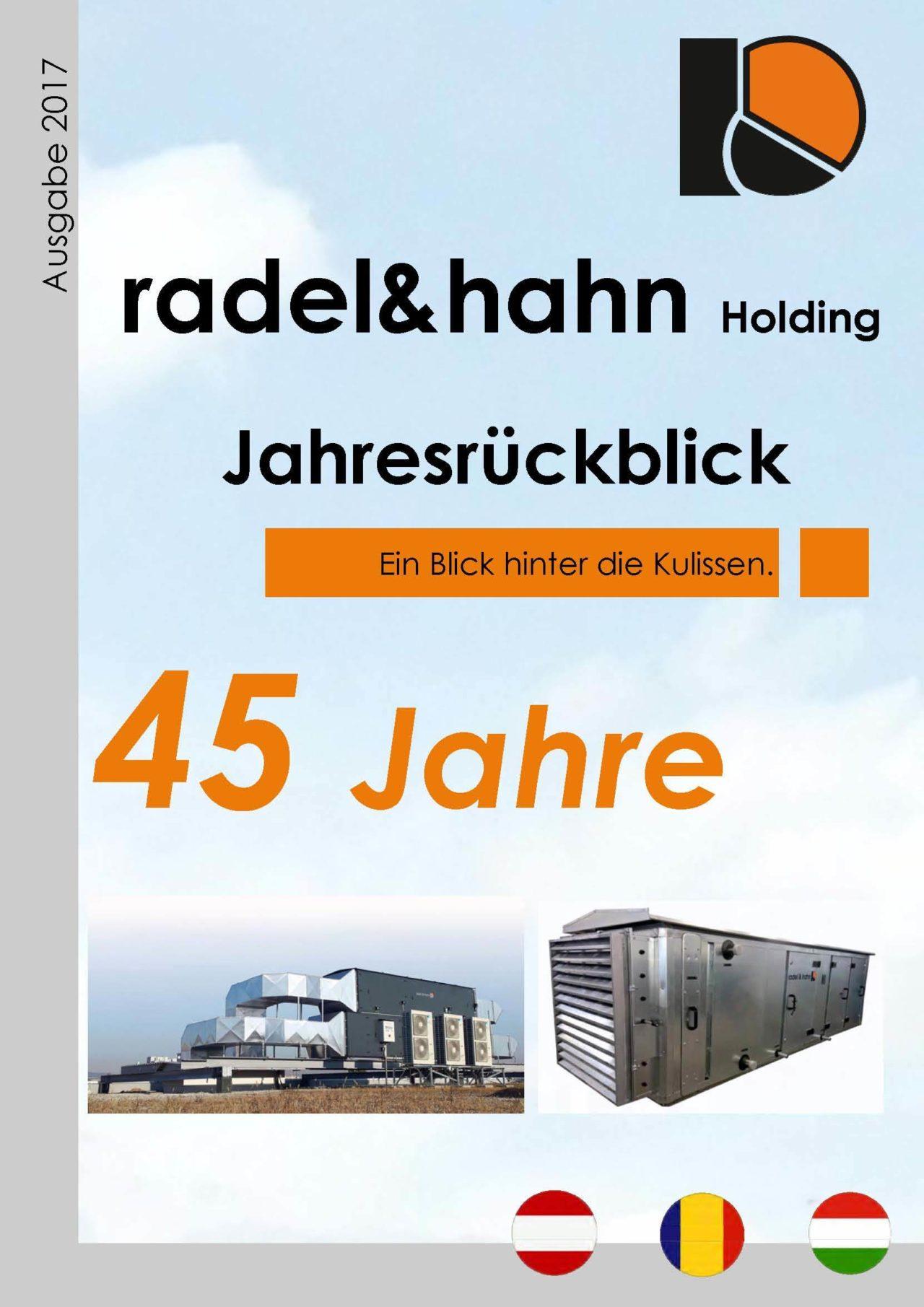radel&hahn Holding Jahresruckblick 2017 | Blog - Microwell