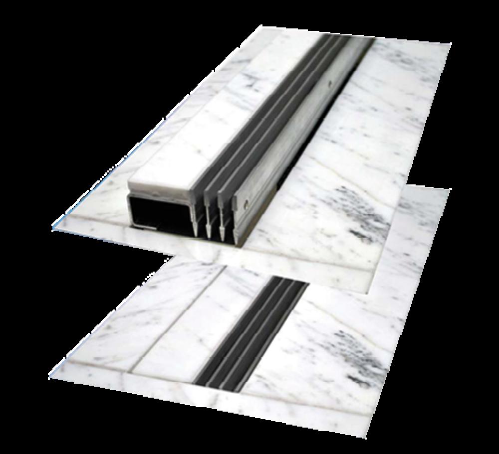 Floor Grils | Aluminiowe podłogowe szyny wentylacyjne - Microwell