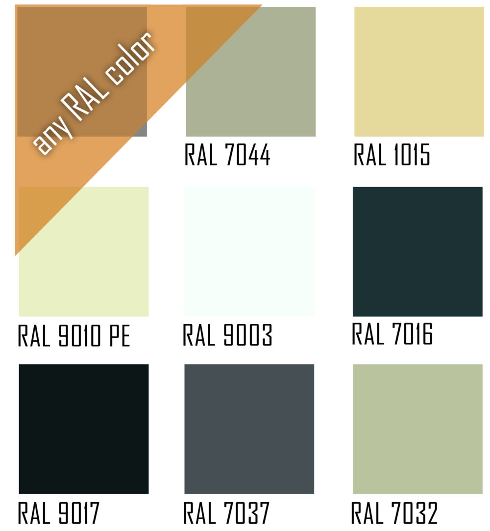 Ral Color Squares | DRY 800 - Microwell