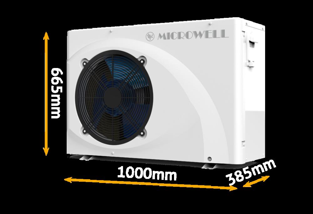 Hp 1700 green rozmery m | HP 1400 GREEN 12,3W - Microwell