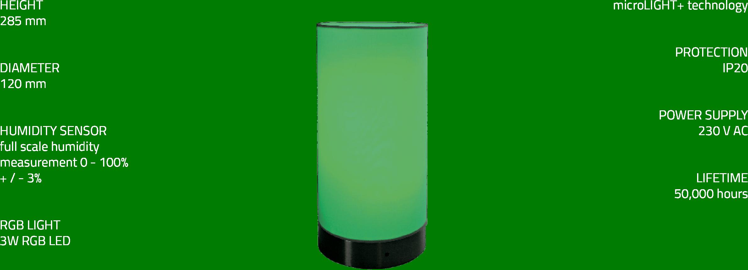 microLIGHT+ lamp - Microwell